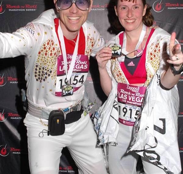 Elvis Running Costume