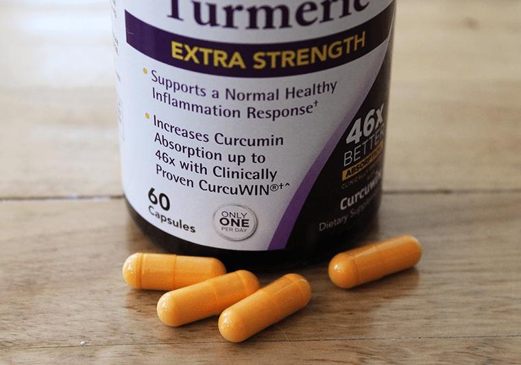 Natrol Extra Strength Turmeric Feature