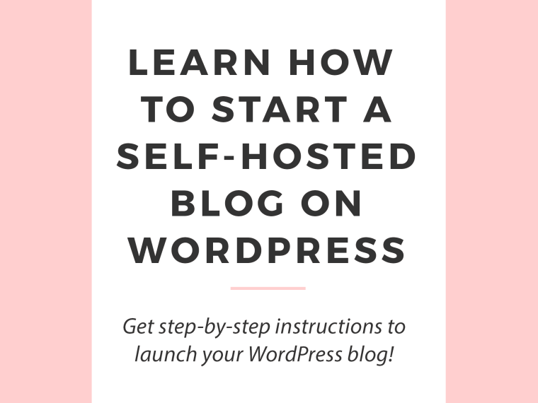 start-self-hosted-wordpress-blog
