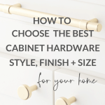 How To Choose Cabinet Hardware Caroline On Design