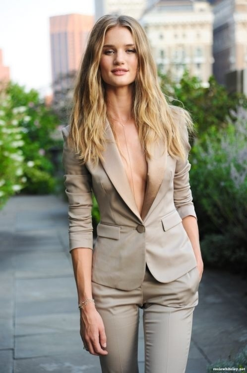 Sexy suit.