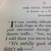 The Man Who Invented Lady Gaga - in 1931