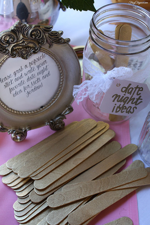 Bridal Shower Decor | FrugElegance | www.frugelegance.com