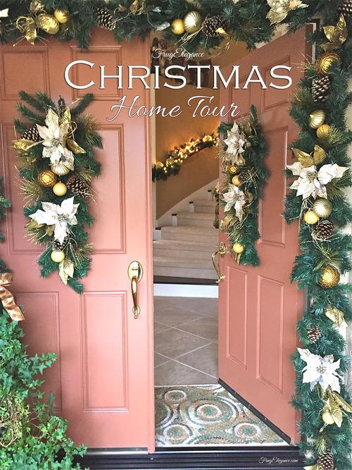A Christmas Home Tour | FrugElegance | www.frugelegance.com