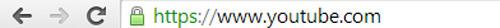 página web que utiliza https como seguridad