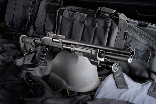 870 Hogue Od Green Stock Remington