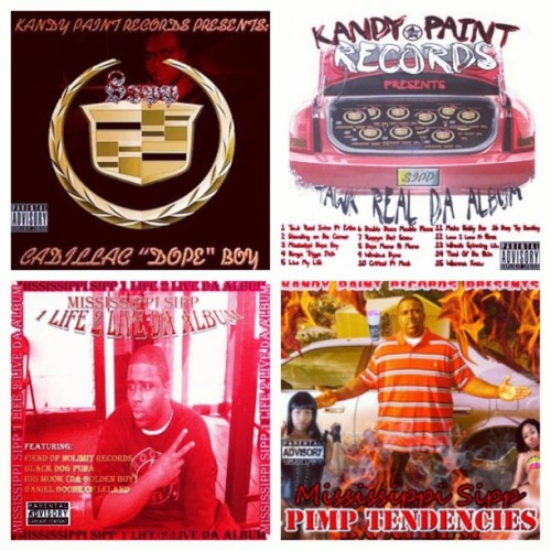 Get all of my Albums out on Kandy Paint Records…3 are out now and Pimp Tendencies coming soon! www.tinyurl.com/tawkreal or search on iTunes and Google Play! #MississippiSipp