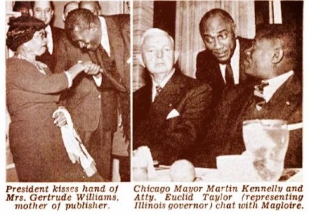 President Paul Eugene Magloire Jet Magazine Feb 17, 1955