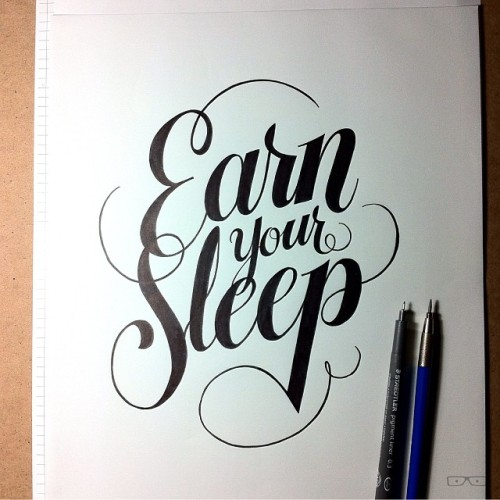 Earn Your Sleep
