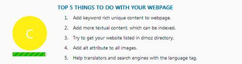 Análisis SEO de páginas web con WebRank Page