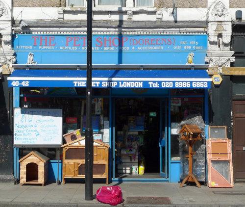 Fish Shop Fulham Road
