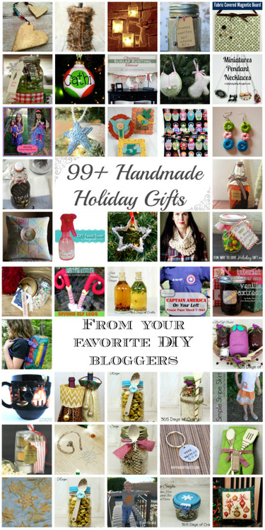 99+ Handmade Holiday Gifts