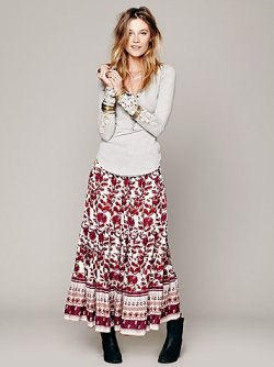 (via Boho Print Convertible Maxi in whats-new)