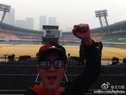 Wang Leehom gets Twitter