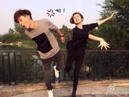 Qi Wei slapping boyfriend Nathan Lee