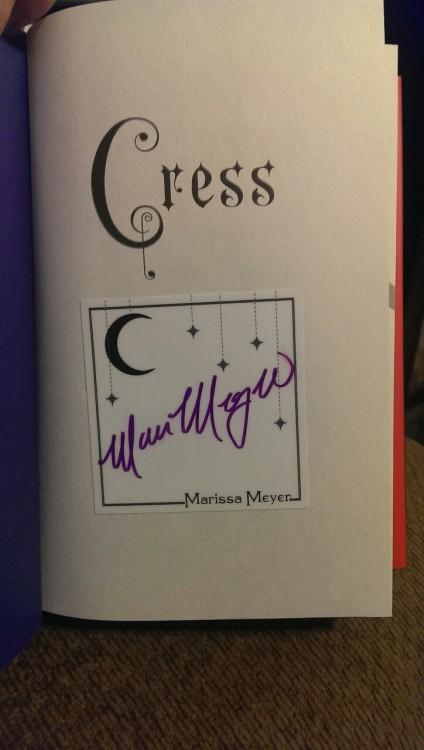 Cress bookplate