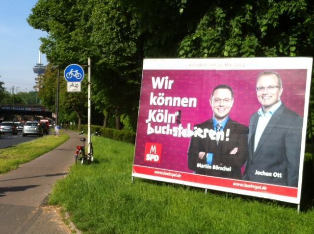 Photo via http://wahlkampf2014.tumblr.com