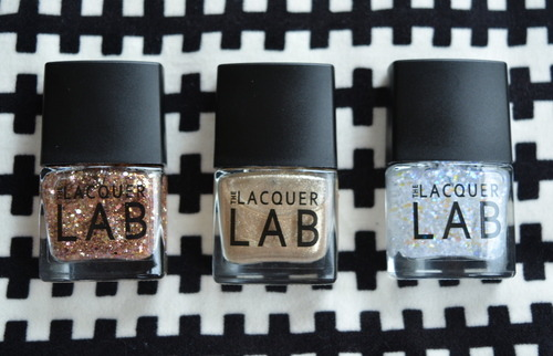 The Lacquer Lab Festive Trio nail polishes