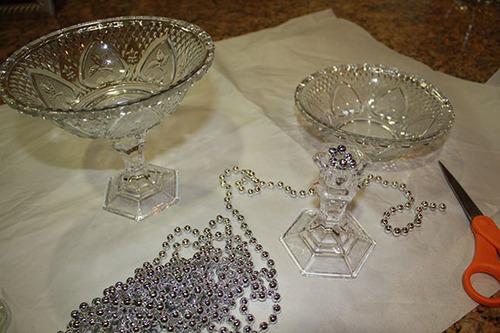 Decor DIY Glass Dish On Pedestal FrugElegance