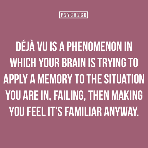 For more posts like these, go visitpsych2go Psych2go features various psychological findings and myths. In the future, psych2go attempts to include sources to posts for the purpose of generating discussions and commentaries. This will give readers a chance to critically examine psychology. Fact submitted by:bonjourtammy