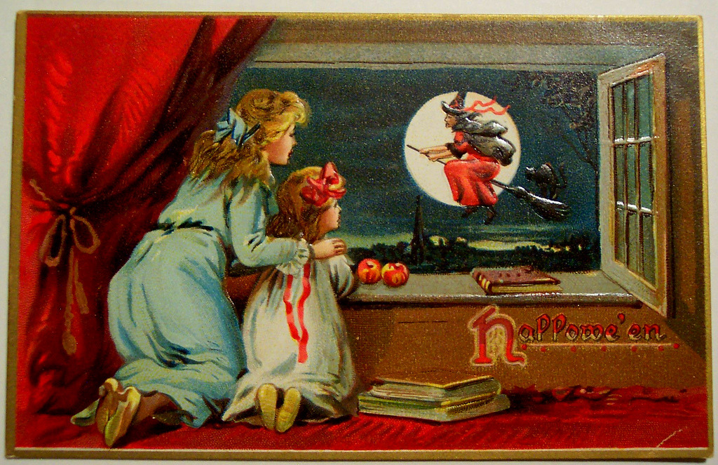Image result for halloween vintage postcards