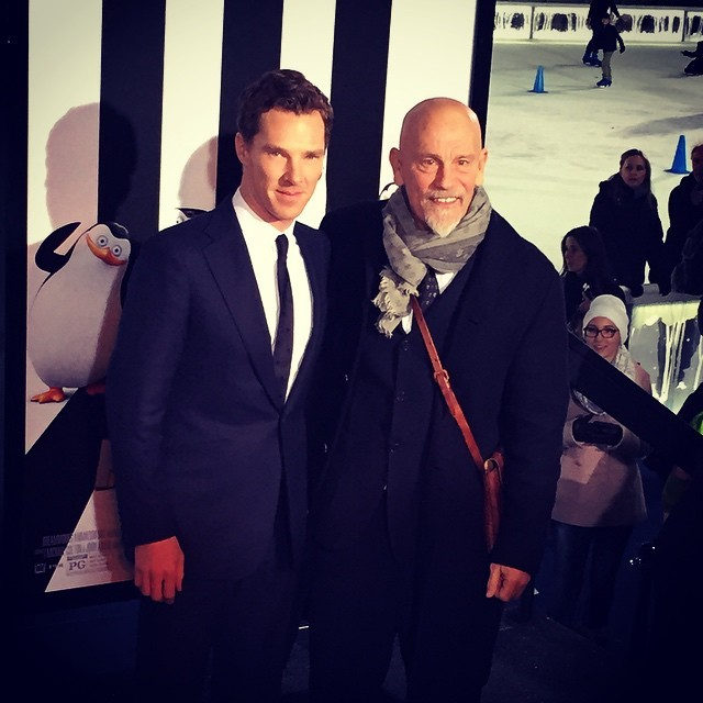 dreamworksanimation:  Agent Classified (Benedict Cumberbatch) and Dave (John Malkovich)…they meet again. #PenguinsMovie