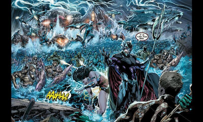 Justice League Volume #3: Throne of Atlantis