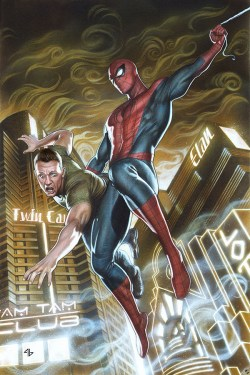 Variant Cover for Amazing Spider-Man #1, out this week
