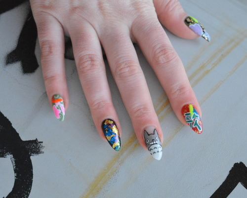 My manicure at DISCO Nails, Tokyo