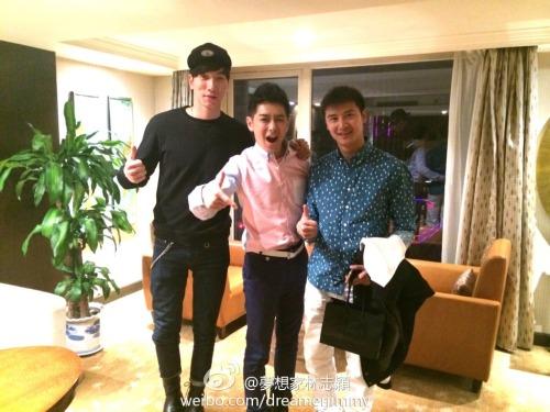 Jimmy Lin, Zhang Liang, and Tian Liang reunite
