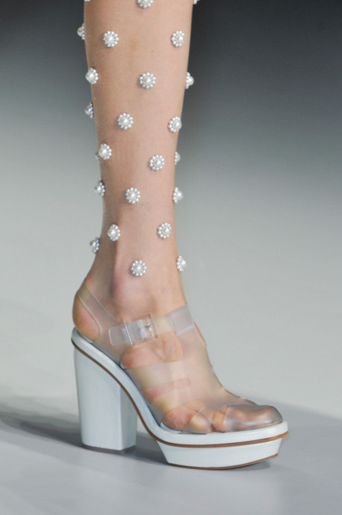 theimpossibleconversations:</p> <p>Simone Rocha SS14