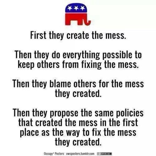 famardy:  So true! And the sad part is that people still take them seriously! SMH. #politics #gop #republicans #teaparty #tcot #uniteblue #conservatives