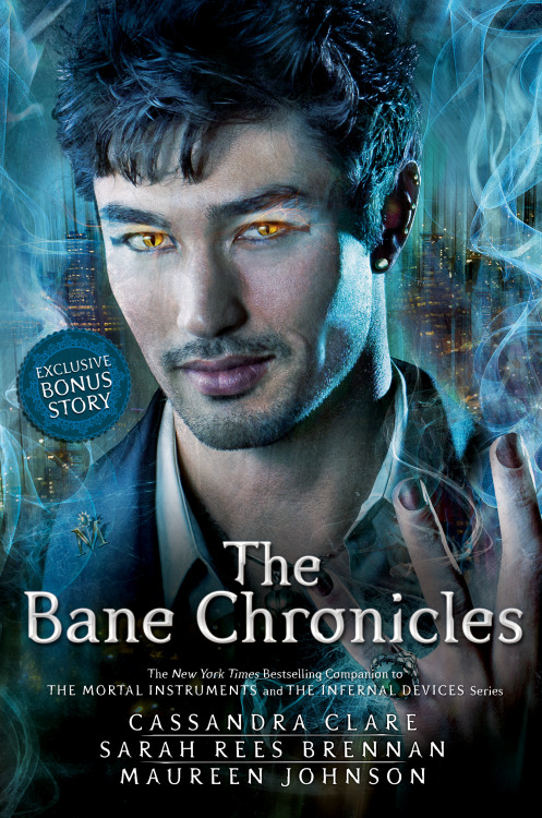 Cassie, will there be a whole new cover for The Bane Chronicles' print edition? — addictedtotheseHere it is! Magnus' pretty face, revealed in honor of the release of the last of the Bane Chronicles, The Course of True Love (And First Dates)  which details Magnus' first date with Alec, and how it went horribly wrong and then oh so right. :)The print edition will release in November, and has a special bonus mini-story in it as a reward for those who had to wait for print. :) It also contains interstitial comics drawn by Cassandra Jean!Maureen and Sarah and I had a blast working on the Bane Chronicles. It was a fun, fantastic experience filled with terrible green jokes about Ragnor, sexy audiobook readers, and of course, lots of time spent with Magnus, which is always a good thing. Thanks so much to everyone for your support of TBC!
