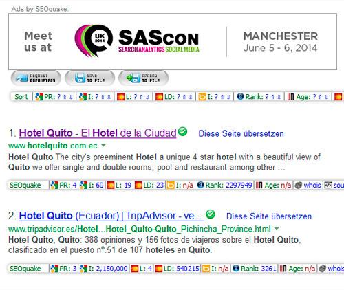 También en Bing puedes bajar los resultados de búsqueda