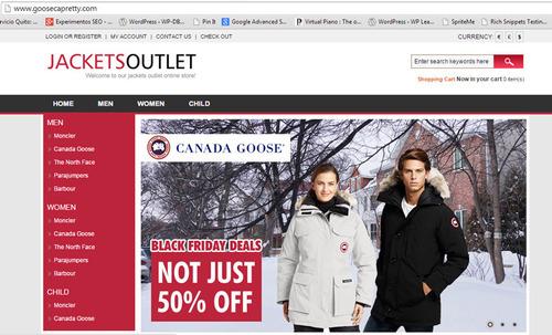 tienda virtual falsa para engañar a los internautas