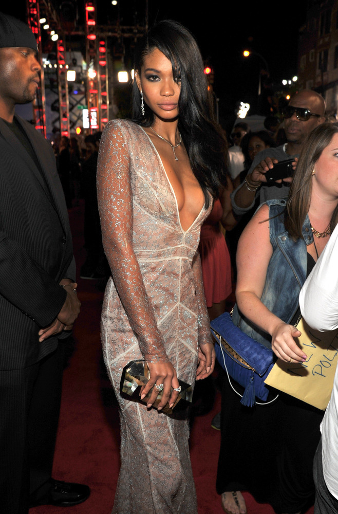 chanel iman mtv vma 2013