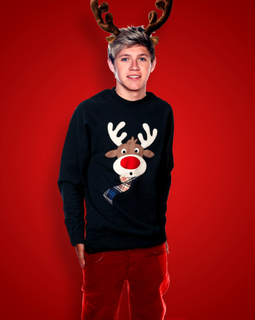 Harry Styles One Direction Niall Horan Christmas 1D Niall ...
