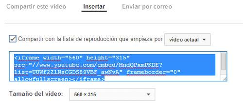 código de Youtube - ¿forma de revisar el comportamiento de usuario?