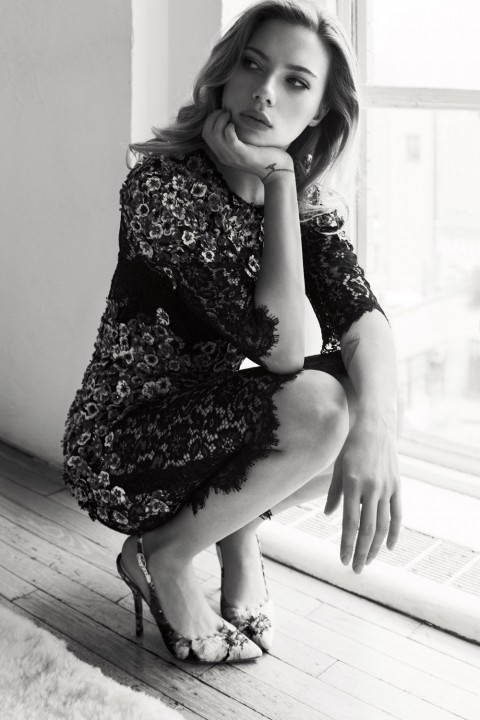 lostinscarlett: Scarlett Johansson photographed by Txema Yeste for Marie Claire Magazine.