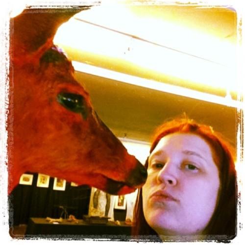 Sara Star and the deer hart!
