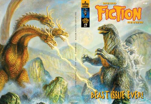Weird Fiction Review #4, November 2013,  edited by S.T. Joshi, Centipede Press, 2014. Cover art by Bob Eggleton, info and previews: centipedepress.com.