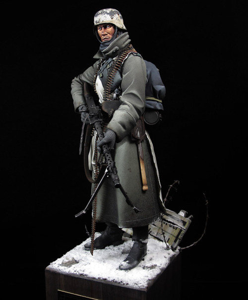 MG34 Gunner / Jeff Shiu 120mm