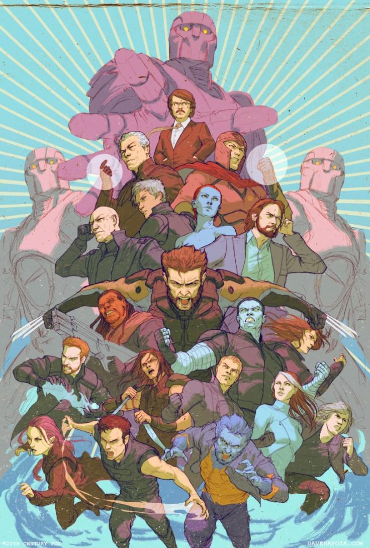 Artwork : X-Men: Days of Future Past