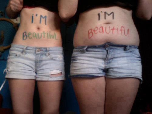 No hay diferencia solo hay belleza<br /><br /><br /><br /> Belleza diferente .. no dejes que nadie te diga lo contrario