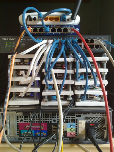 ARM powered server farm (1/2)