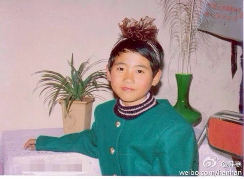 Young Han han dressed up as a girl