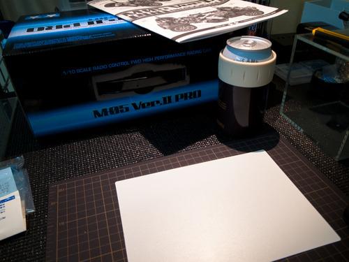 楽しいラジコン製作(M-05 ver ii PRO)Vol.01