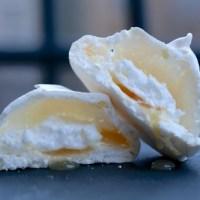 Søde og syrlige marengs med lemon curd - ganske godt, ganske ganske godt