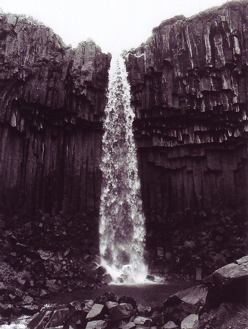 brutalgeneration:</p> <p>KNOWLEDGE FLOWS LIKE A WATERFALL.<br /> IT IS ALWAYS AVAILABLE—ALWAYS FLOWING.<br /> YOU JUST HAVE TO KNOW WHERE TO LOOK.