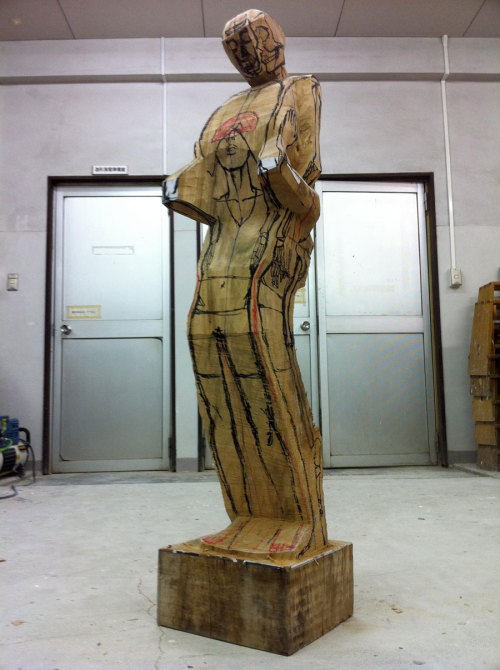 art sculpture artist sculptor w.i.p. Wood Sculptor